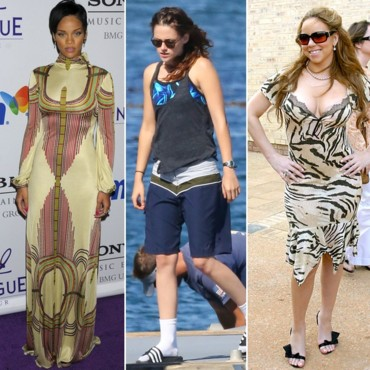 Fashion faux pas de stars