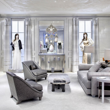 Boutique Dior à New York - le salon