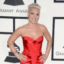 Pink à la 56e cérémonie des Grammy Awards le 27 janvier au Staples Center, à Los Angeles.