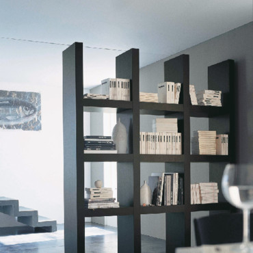 armoire bibliotheque fly. Black Bedroom Furniture Sets. Home Design Ideas