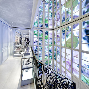 Boutique Dior à New York - le vestibule