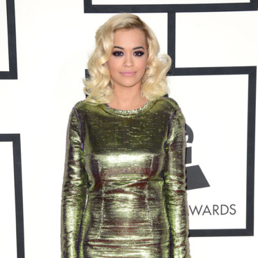 Rita-Ora à la 56e cérémonie des Grammy Awards le 27 janvier au Staples Center, à Los Angeles.