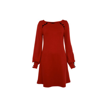 Robe bordeau Miss Selfridge