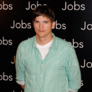 "Ashton Kutcher à Paris pour la promotion de ""Jobs""."