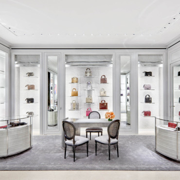 Boutique Dior à New York - les sacs