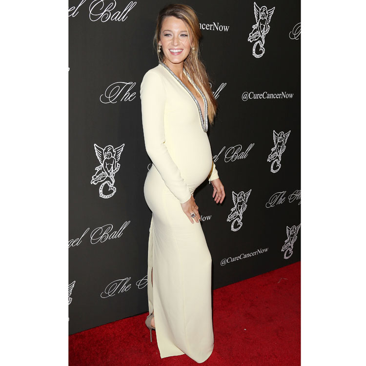 Blake Lively en robe Gucci au Angel Ball 2014 à New York octobre 2014
