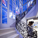 Boutique Dior à New York - l'escalier
