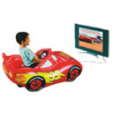 La voiture gonflable et interactive Disney Cars