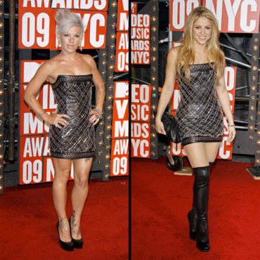 Pink et Shakira : combat de mode aux MTV Music Awards
