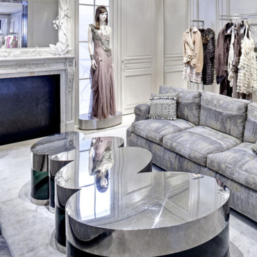 Boutique Dior à New York - une architecture moderne