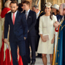 James et Pippa Middleton au baptême du prince George, le 23 octobre, dans la chapelle du palais St James à Londres
