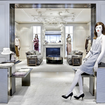 Reportage photo d couvrez la nouvelle boutique dior de new york boutique - Boutique deco new york ...