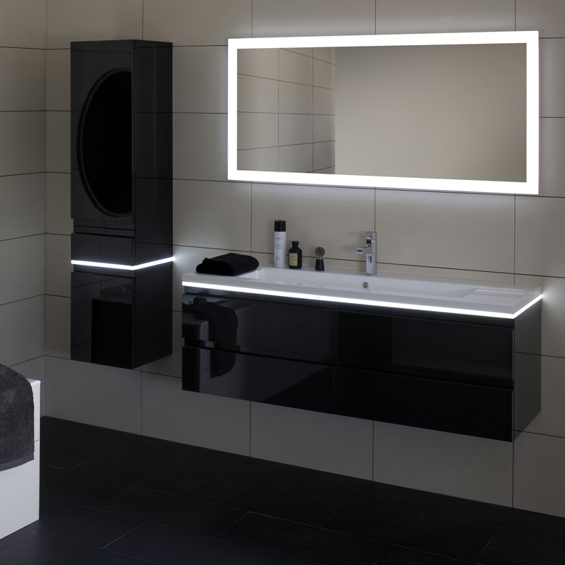 meuble salle de bain ikea lillangen avec. Black Bedroom Furniture Sets. Home Design Ideas