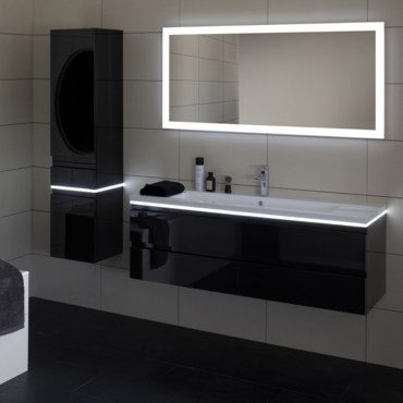 meuble salle de bain sanijura. Black Bedroom Furniture Sets. Home Design Ideas