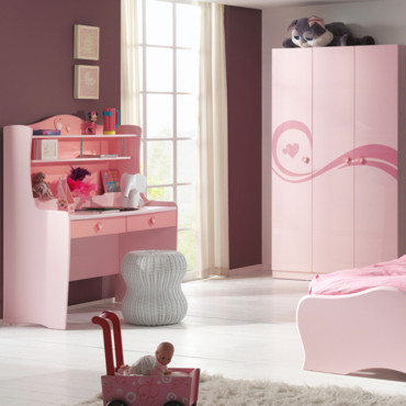d co de rentr e 25 petits bureaux mignons pour filles et gar ons bureau avec r hausse. Black Bedroom Furniture Sets. Home Design Ideas