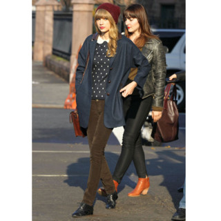 Taylor Swift et son look d'automne preppy