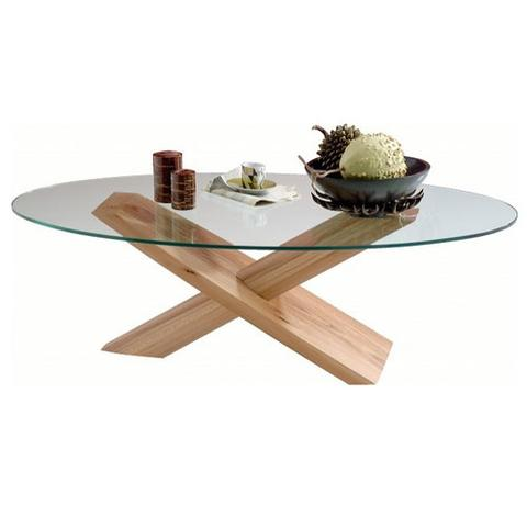 D coration table basse tendance tendances d co d co - Table en verre ovale ...