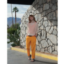 Le pantalon baba cool orange American Vintage