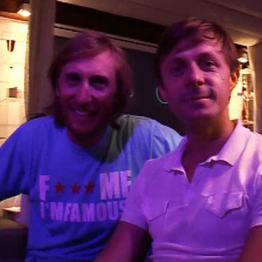 people : David Guetta et Martin Solveig