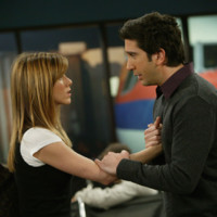 Photo : Jennifer Aniston et David Schwimmer dans Friends