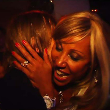people : David Guetta et Cathy Guetta en plein câlin