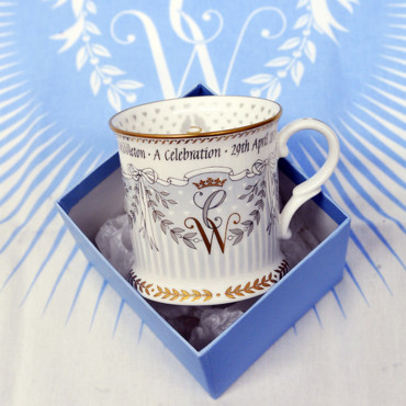 Mug commémoratif du mariage du Prince William et de Kate Middleton