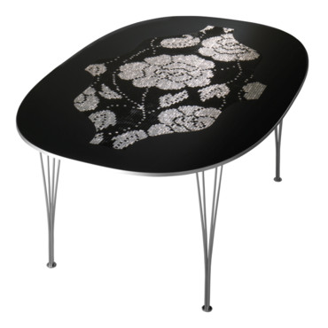 Table Bisazza et Fritz Hansen