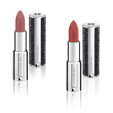 Le Rouge Givenchy, Edition Limitée, n°206 Rose d'Exception et n°308 Rouge d'Exception, Givenchy, 33 euros.