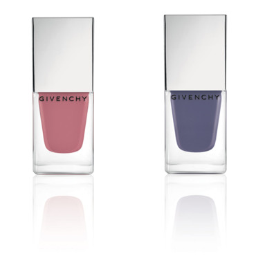 Le Vernis Givenchy, Edition Limitée, n°09 Rose d'Exception et n010 Lilas d'Exception, Givenchy, 20 euros