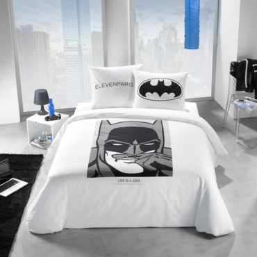 c 39 est le mois du blanc notre s lection de 25 draps et housses de couette linge de lit batman. Black Bedroom Furniture Sets. Home Design Ideas