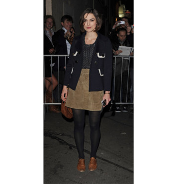 Keira Knightley en mode preppy