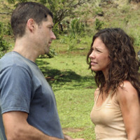 Photo : Matthew Fox et Evangeline Lily