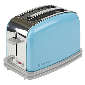 Toaster Blue Peacock Russell Hobbs