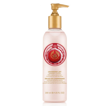 Lotion Scintillante Délice de Canneberge, The Body Shop