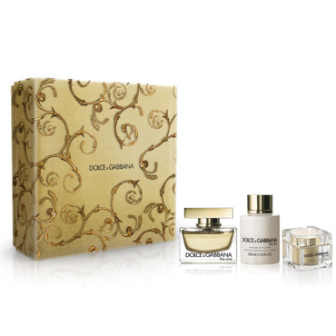 Coffret Noël 2013 Dolce & Gabbana the one à 60 euros