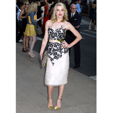 Amber Heard aux CFDA Awards 2011