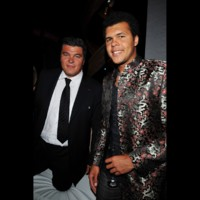 Photo : David Douillet et Jo Wilfried Tsonga