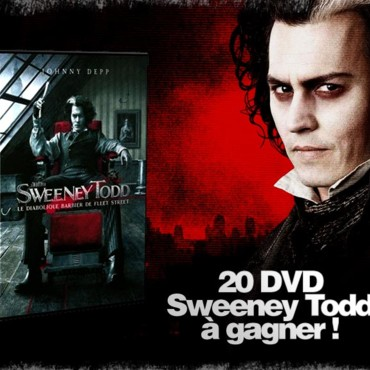 20 DVD Sweeney Todd à gagner !