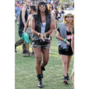 Kelly Rowland au festival de Coachella en avril 2013 (Californie)