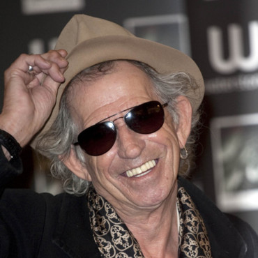 Keith Richards des Rolling Stones