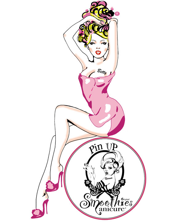 Pin Up Smoothies Manicure : Betty