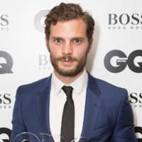 Jamie Dornan lors des GQ Men of the Year en septembre 2014
