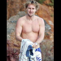 Photo : Owen Wilson beau en maillot