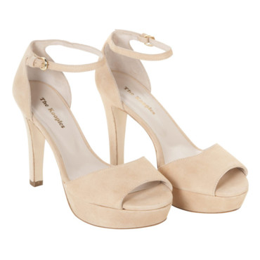 Sandales nude The Kooples 265 euros