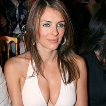 Liz Hurley attended the Haute Couture Fashion Show in Paris