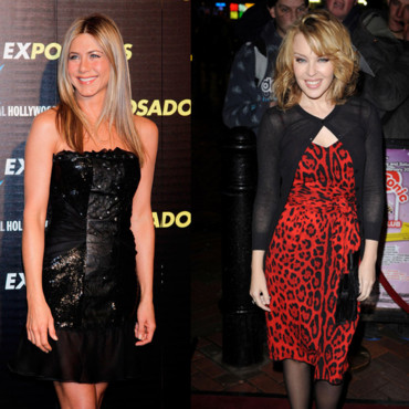 Top Flop Kylie Minogue vs. Jennifer Aniston