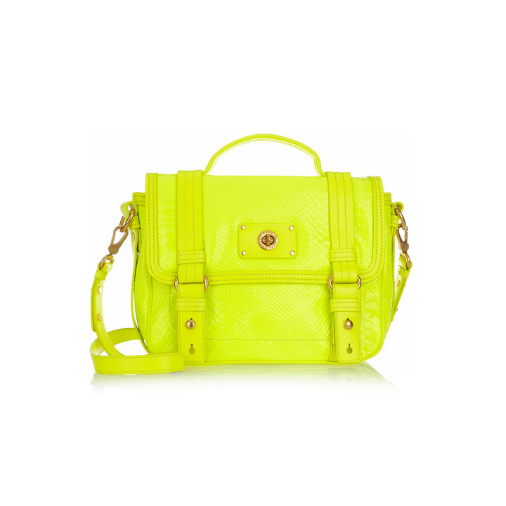 mode t 2012 50 sacs main tendances le sac main jaune fluo marc by marc jacobs 485. Black Bedroom Furniture Sets. Home Design Ideas