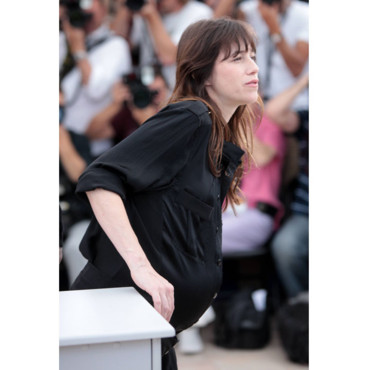 Charlotte Gainsbourg enceinte Cannes 2011