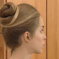 chignon simple