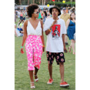 Solange Knowles au festival de Coachella (Californie) en avril 2013